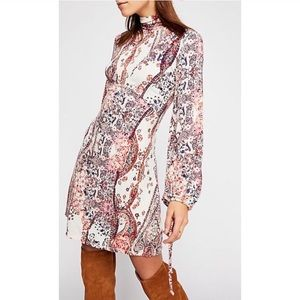 Free People All Dolled Up Long-Sleeve Dress